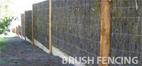 brush fencing