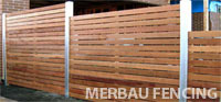 merbau fences
