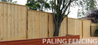 timber paling fences