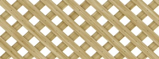 lattice trellis fence