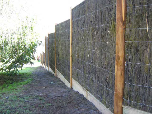 Brush Fencing Panels Carraway Timber Amp Fencing